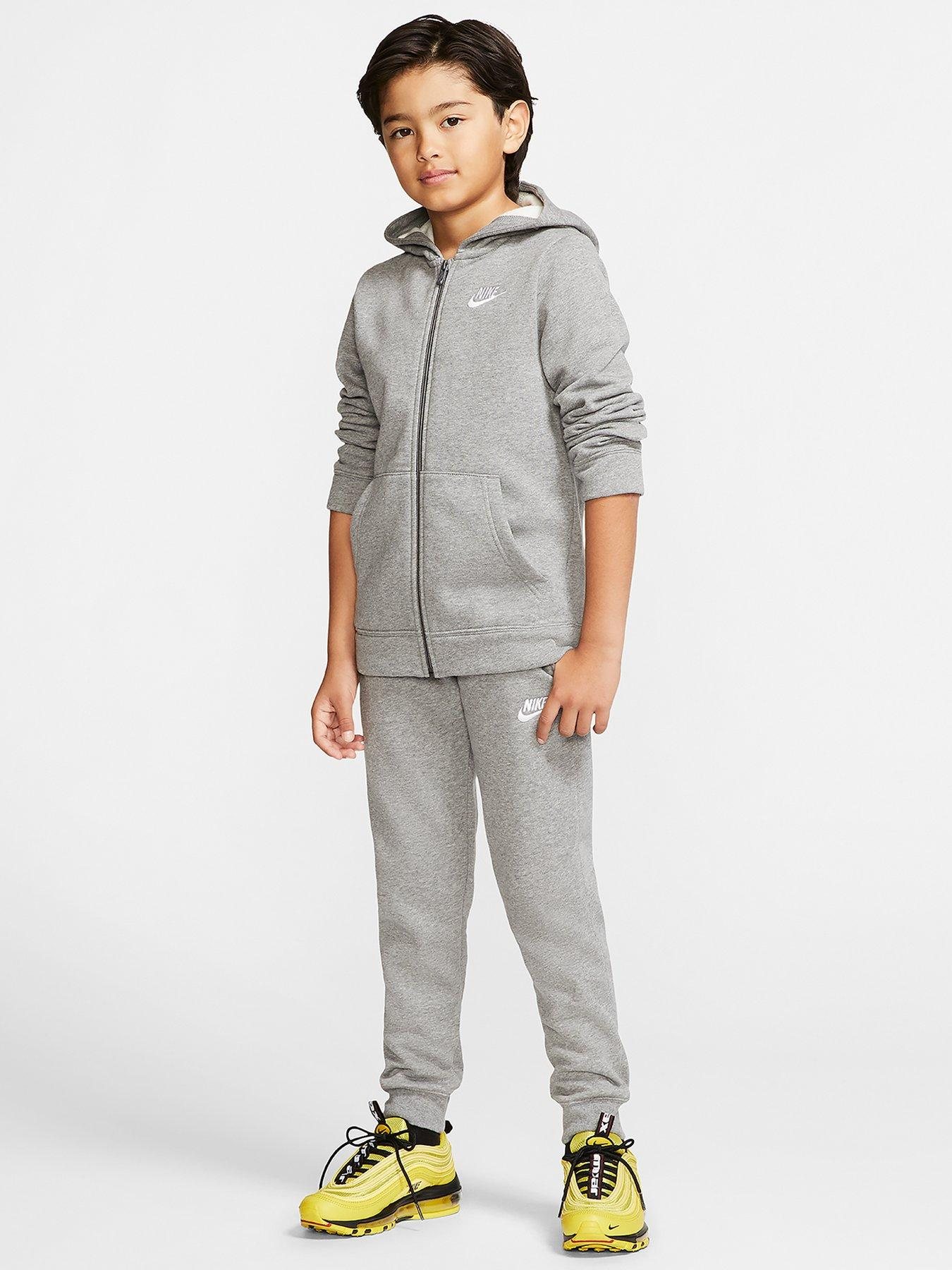 BOYS GIRLS TRACKSUIT HOODED TOP JOGGING BOTTOMS KIDS JOGGING SUITS AGE 7 TO 14