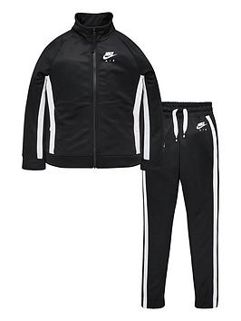nike-air-kids-tracksuit-blackwhite