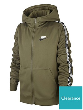 nike-sportswear-full-zip-taped-hoodienbsp--greenwhite