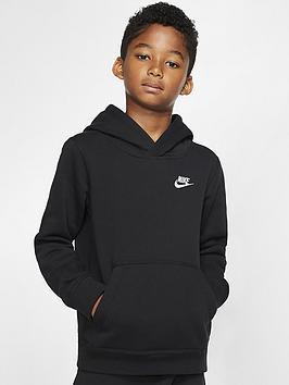 nike-sportswear-kids-hoodie-blackwhite