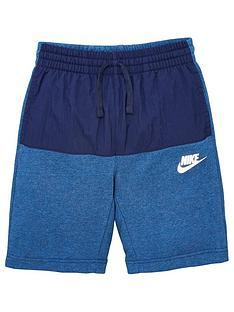 nike-sportswear-kids-shorts-navy
