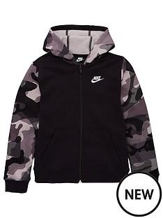 nike-nike-nsw-club-full-zip-camo-sleeve-hoodie