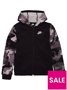 nike-nike-nsw-club-full-zip-camo-sleeve-hoodie