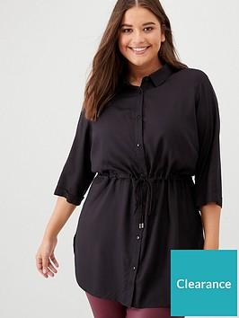 junarose-curve-juliett-tunic-shirt-black