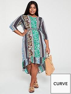 junarose-talya-mix-print-frill-hem-dress-print