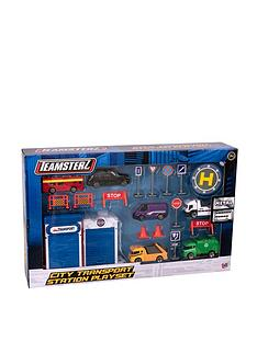 teamsterz-teamsterz-3-inch-die-cast-city-transport-playset