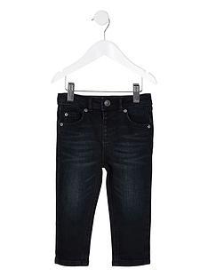 river-island-mini-sid-skinny-jeans-dark-blue