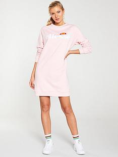 ellesse-exclusive-bella-sweat-dress-pinknbsp