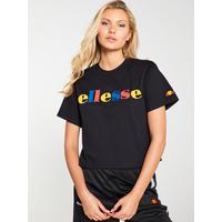 91726b259c Ralia Crop T-Shirt - Black