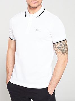 boss-athleisure-polo-shirt-white