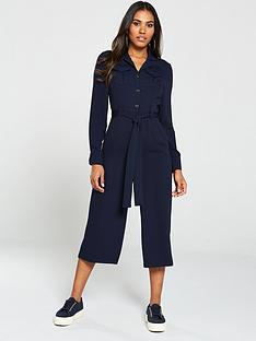 v-by-very-pocket-front-utility-jumpsuit-navy