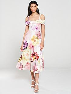 v-by-very-bardot-printed-scuba-prom-dress-floral