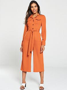 v-by-very-cropped-utility-jumpsuit-orange