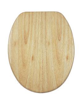 aqualona-solid-oakwood-soft-close-toilet-seat