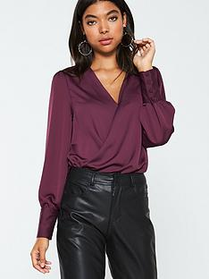 v-by-very-wrap-front-long-sleeve-blouse-burgundy