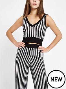 ri-petite-ri-petite-metallic-stripe-knit-crop--black