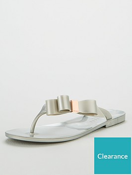 ted-baker-glamarb-bow-detail-jelly-flip-flops-silver