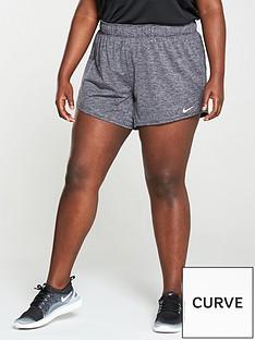 nike-plus-size-training-dry-shorts-black