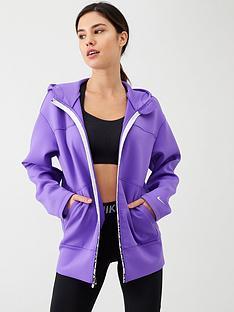 nike-training-pro-fz-fleece-hoodie-purple
