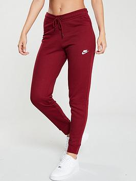 nike-nsw-essential-fleece-pant-rednbsp