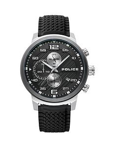 police-police-black-and-silver-detail-chronograph-dial-black-silicone-strap-mens-watch