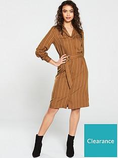 v-by-very-stripe-button-through-shirt-dress
