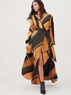 v-by-very-spliced-spot-wrap-maxi-dress-spot