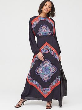v-by-very-scarf-print-kimono-sleeve-maxinbspdress-print