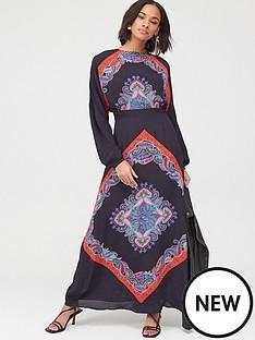 v-by-very-scarf-print-kimono-sleeve-midaxi-dress-print