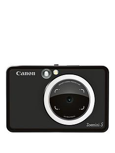 fa3a6f55126d Canon Canon Zoemini S Pocket Size 2-in-1 Instant Camera Printer (Matte  Black) + App