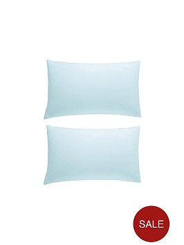 pure-cotton-200-thread-count-standard-pillowcases-pair