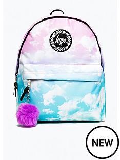 hype-girls-pom-pom-cloud-backpack-multi