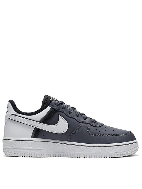 Air Force 1 Lv8 2 Childrens Trainers - Grey/White
