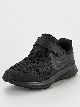 nike-childrens-star-runner-2-trainers-black