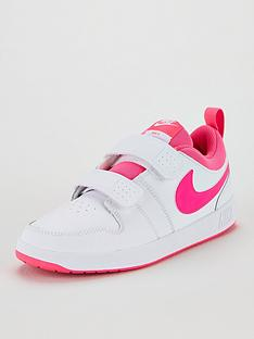 nike-pico-5-childrens-trainers-whitepink