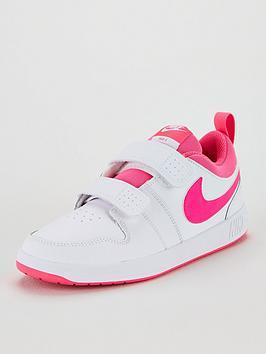 nike-pico-5-childrens-trainers-whitepink