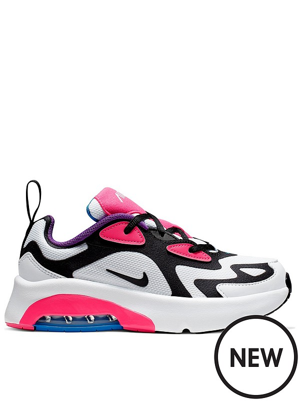 Air Max 200 Infant Sneakers WhitePink 21 (UK 4.5)