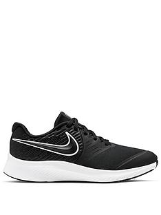 nike-star-runner-2-junior-trainers-blackwhite