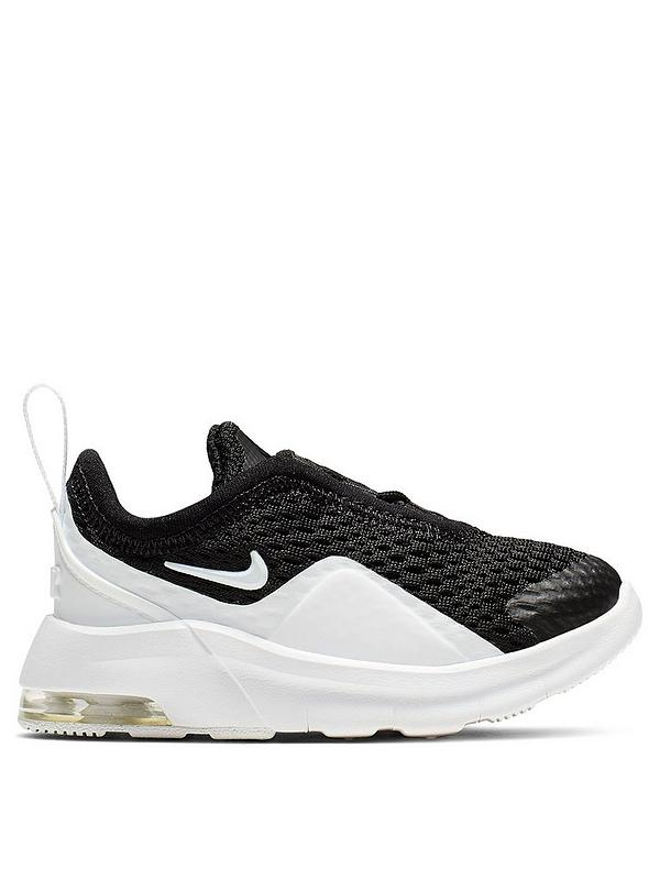 Air Max Motion 2 Infant Trainers BlackWhite