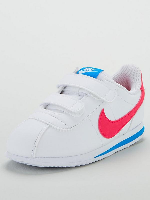 wholesale online check out good Cortez Basic SL Infant Trainers - White/Pink