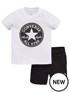 converse-childrens-printed-patch-shorts-and-t-shirt-2-piece-set-whiteblack