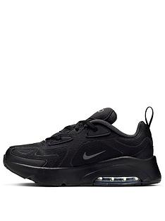 nike-air-max-200-childrens-trainers-black