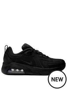 nike-air-max-200-junior-trainers-black