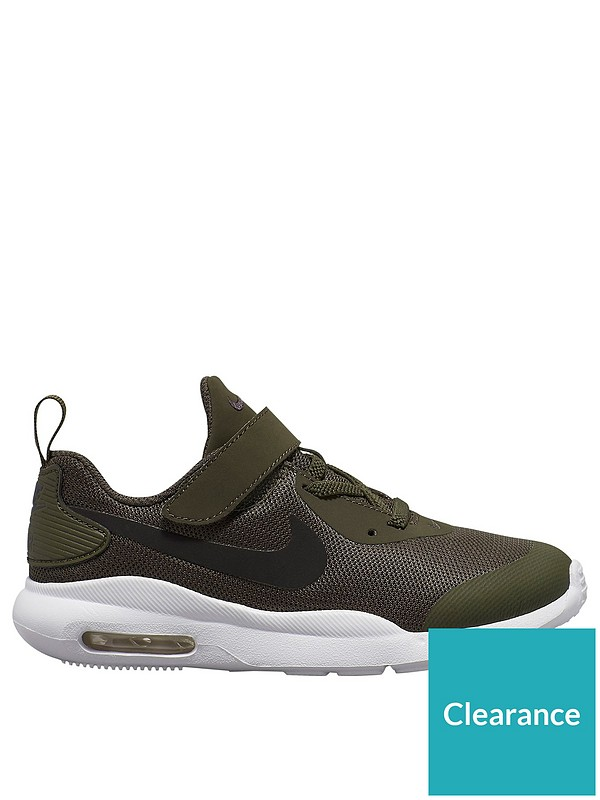 Nike Air Max Oketo Black Black For Toddlers Size 6 To 10 New In Box Original