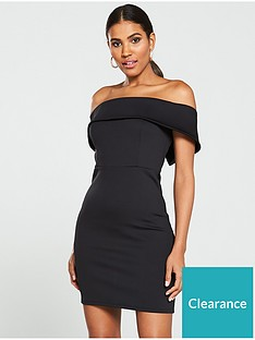 v-by-very-bardot-bodycon-mini-dress-black
