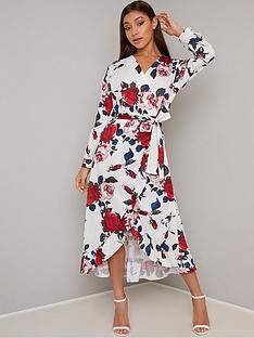 chi-chi-london-floral-wrap-midi-dress