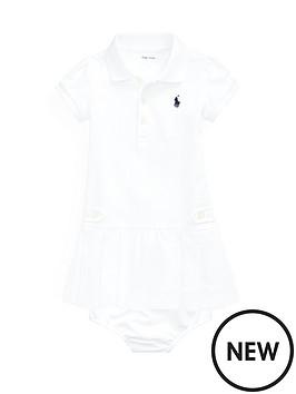 e1d6e6fcf Ralph Lauren Ralph Lauren Baby Girls Pleated Polo Dress. View larger