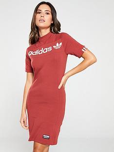 adidas-originals-tee-dress-rednbsp