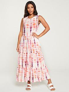 v-by-very-tie-dye-frill-jersey-midi-dress-pink