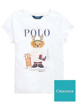 ralph-lauren-girls-short-sleeve-christmas-bear-t-shirt-white